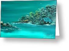 Emerald Isle 2 Greeting Card