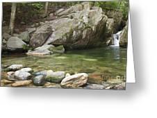 Emerald Pool - White Mountains New Hampshire Usa Greeting Card