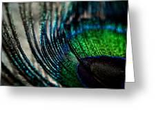 Emerald Shadows Greeting Card