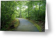 Emerald Trail Greeting Card