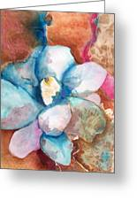 Emerging Flower Greeting Card