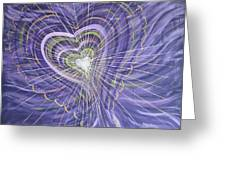 Emerging Heart Greeting Card