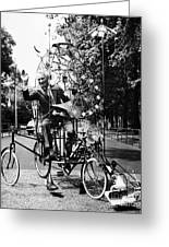 Emett: Lunacycle, 1970 Greeting Card by Granger