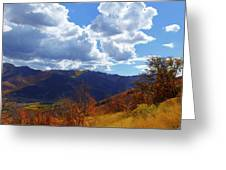 Emigration Canyon Greeting Card