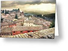 Emilia Romagna Italy Greeting Card