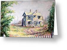Emily Carr's Birthplace Greeting Card