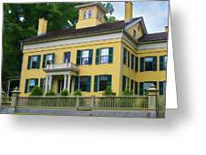 Emily Dickinson House Greeting Card