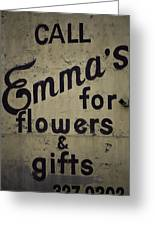 Emma's Greeting Card