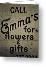Emma's Greeting Card