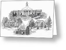 Emory And Henry College Greeting Card