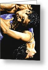 Emotional Tango Greeting Card