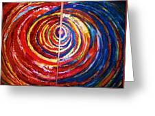 Emotional Whirl Greeting Card