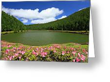 Empadadas Lakes Greeting Card