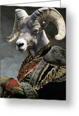 Emperor Jstor Jax Greeting Card