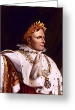 Emperor Napoleon Bonaparte  Greeting Card