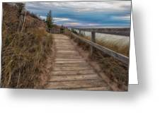 Empire Bluffs 3 Greeting Card