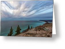 Empire Bluffs 5 Greeting Card
