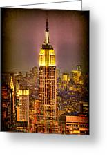 Empire Light Greeting Card by Chris Lord