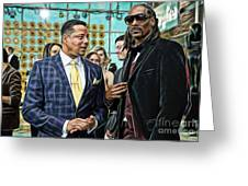 Empire Lucious And Snoop Dog Greeting Card