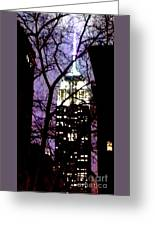 Empire State From Madison Park 1 Greeting Card
