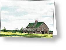 Empty Barn Greeting Card