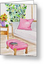 Empty Chair Series 3 Greeting Card