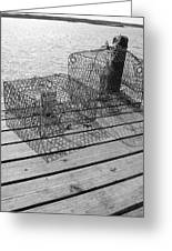 Empty Crab Traps Greeting Card