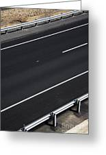 Empty Highway Greeting Card