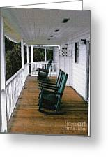Empty Retirement Greeting Card by Methune Hively