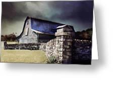 Empyrean Estate Stone Wall Greeting Card