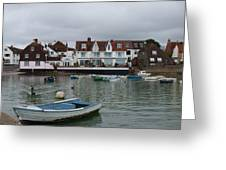 Emsworth Harbour 1 Greeting Card
