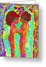 Encaustic  Love Greeting Card