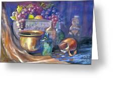 Enchanced Still Life Honey Bear Greeting Card
