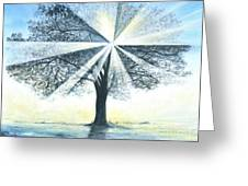 enchanced Tree Light Greeting Card