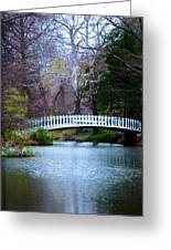 Enchanted Bridge Greeting Card