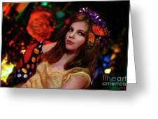 Enchanted Butterfly Greeting Card