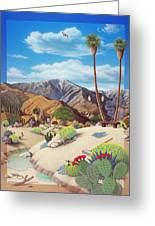Enchanted Desert Greeting Card