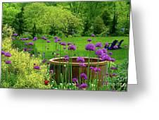 Enchanted Garden Greeting Card