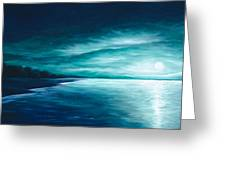 Enchanted Moon I Greeting Card by James Christopher Hill