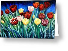 Enchanted Tulips Greeting Card