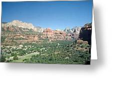 Enchantment Resort Sedona Arizona Greeting Card