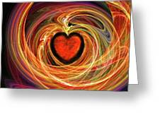 Encompassing  Love Greeting Card