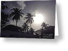End Of The Day In The Islands Greeting Card