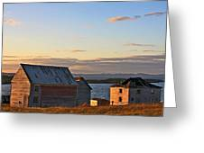 End Of The Day In Trinity Bay, Newfoundland Greeting Card