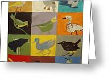 Endangered  Birds  Of   Kauai Greeting Card