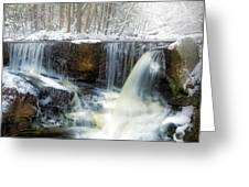 Enders Ice Square Greeting Card
