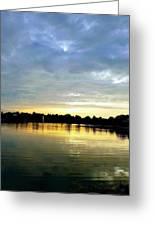 Edinboro Lake Greeting Card