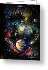 Endless Beauty Of The Universe Greeting Card