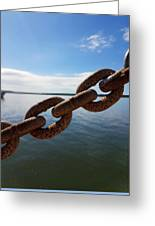 Endless Chain Of Hope  Greeting Card
