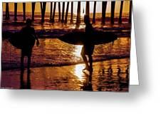 Endless Summer 3 Greeting Card